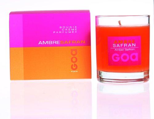 Goa 208AS Bougie Crème Ambre Safran