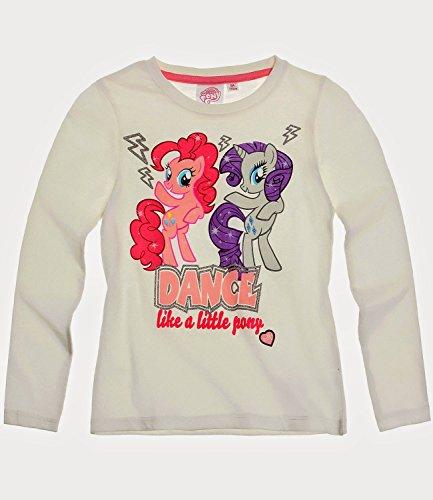 MY LITTLE PONY Langarmshirt aus Baumwolle, Mädchen Größe 104 (4 Jahre), Motiv