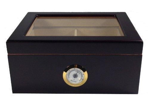 Mahagoni Finish Holz-rahmen (KENDAL Top Qualität Zigarre Humidor Mahagoni-Finish)