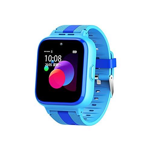 ZUEN Smart Watch Neue Q20 Mobile Unicom Kinder 4G Smart Phone Watch GPS-Videoanruf,Blue (T-mobile Neue Handys)