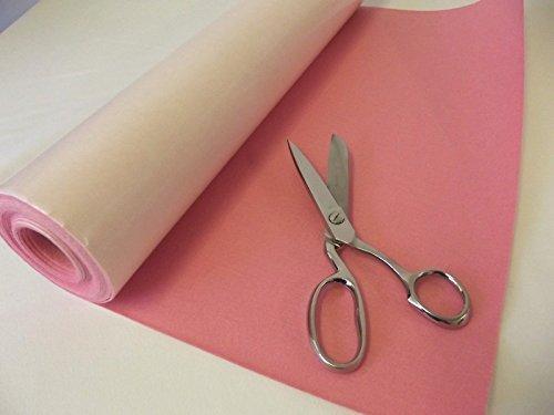 selbstklebend Filz Fries Stoff Mini Rollen - Flamingo rosa - Rosa, Sample - 23cmx23cm 9
