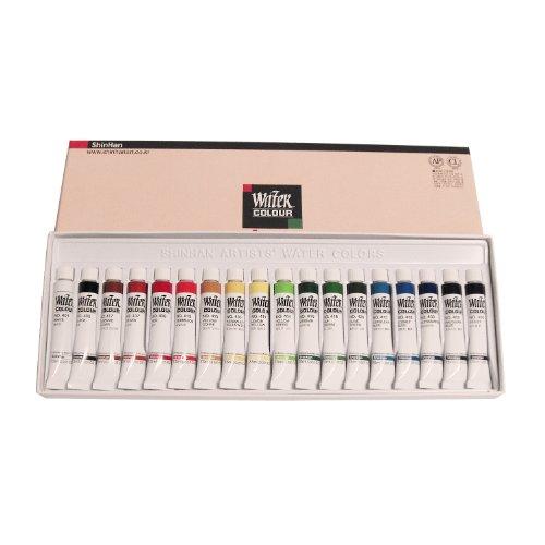 ShinHan acuarelas artista pintura tubos Set 18Colores 7,5ml cada