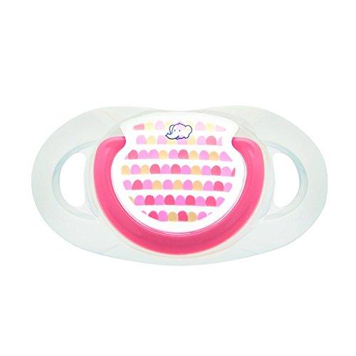 Bébé Confort Sucette Maternity Dental Safe en Silicone Orange Little Valleys 0-6 Mois 2 Pièces