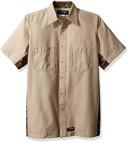 Wrangler Workwear Men's Button-Down Shirt