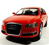 Audi A6 Modellauto Diecast Metal Opening Türen Detaillierte Innen Pullback Aktion Maßstab 1:38