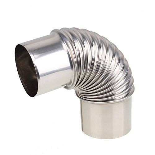 BQLZR caldaia acqua stufa in acciaio inox gomito tubo di scarico per gas Water Heater - Scarico Acqua Tubo