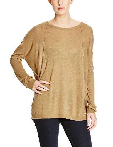 Bench Damen Langarmshirt CANVASS,, ,, , Gr. X-Large, Gold (Antique Bronze Marl KH059X)