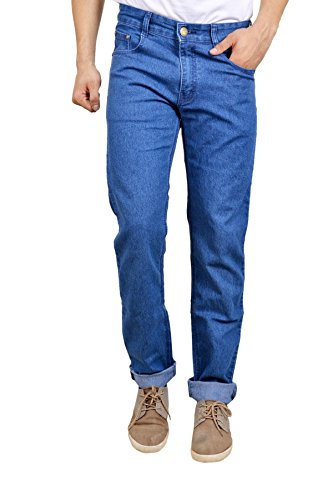 Studio Nexx Men's Denim Regular Fit Jeans (Blue, Size - 38)