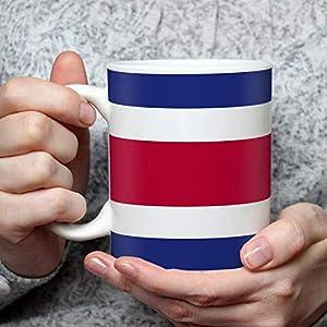 Geschenk Tasse mit Flagge Costa Rica Länder Flaggen Geburtstagsgeschenk Souvenir für Reiseliebhaber Frauen Männer