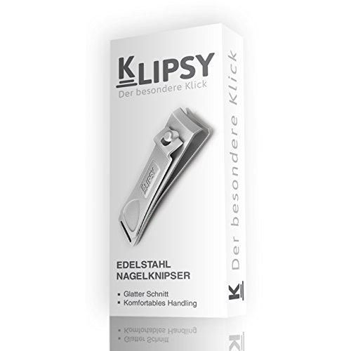 K-Pro KLIPSY Nagelknipser Groß - Edelstahl Nagelzwicker für Finger- und Fußnägel - Bild 2