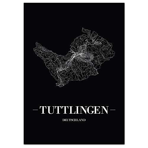41H%2Bz%2BeTAHL - JUNIWORDS Stadtposter, Tuttlingen, Schwarz