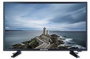 Majestic tvd-224HD t2-s2Full HD LED 24USB Rec 220V Cam CI + HD Classe A Noir