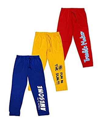 Maniac Boys' Trouser (Ml-Kids-Pant-Blue-Yellow-Red-2-3_Blue,Yellow And Red_2-3 Years)
