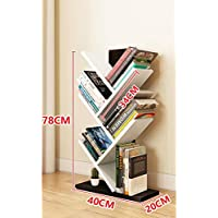 Estantería - Estantería en Forma de árbol Sala de Estar Estantes de repisa en el Piso Simple Dormitorio de la Personalidad Librería para niños (Color : B)