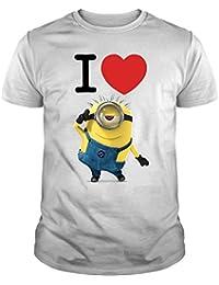 The Fan Tee Camiseta de Mujer Minions Banana GRU Banana Divertida Banana