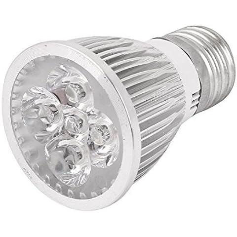 CA 85-265V 5W E27 5 LED de la lámpara del bulbo de luz blanca cálida luz de techo del punto