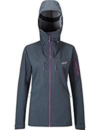 Rab Upslope Softshell Jacket - Women's Ebony, US XS/UK 8