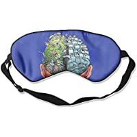 Eye Mask Eyeshade Brain Working Sleeping Mask Blindfold Eyepatch Adjustable Head Strap preisvergleich bei billige-tabletten.eu