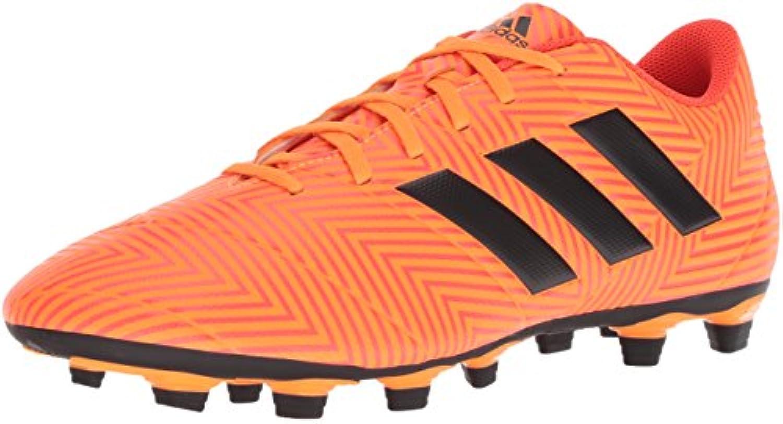 Adidas Men's Nemeziz 18.4 Firm Ground Soccer scarpe, Zest nero Solar rosso, 12 M US | Di Alta Qualità  | Maschio/Ragazze Scarpa