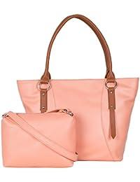 [Sponsored]ADISA AD4036 Women Handbag With Sling Bag Combo