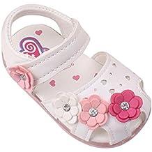 Tefamore Sandalias Encendidas Soft-Soled Princesa Zapatos Toddler Nuevo Girasol Chicas(Luz)