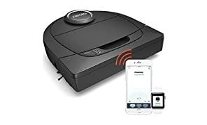Neato Botvac Connecté D5 Wifi - Aspirateur Robot Intelligent pour tous les sols - Station de chargement, navigation laser & compatible Smart Home