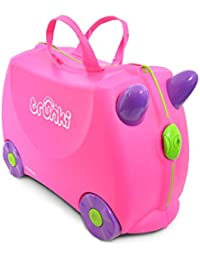 Trunki Children's Ride-On Suitcase & Kid's Hand Luggage: Trixie (Pink)