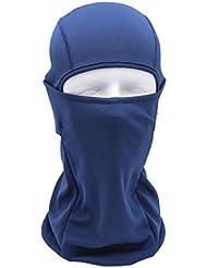 gaddrt multifunción al aire libre Esquí Máscara esquí motocicleta ciclismo máscara de cara completa, azul marino