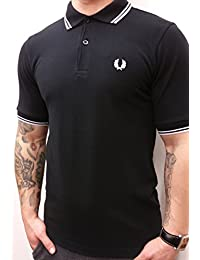 Fred Perry Polo Homme Noir Slim Fit