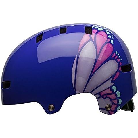 Bell sábana Skater Casco & bicicleta casco de Purple/Pink/Iceberg Glide, S 51-55cm