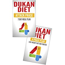 Dukan Diet Collection: Lose Weight Fast and Attack Phase Recipe Book