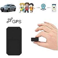 Mini GPS Tracker Hangang traceur GPS pour véhicule Mini localisateur mini traqueur voiture locator Anti-perdu pour voiture motocyclette documents portefeuilles sacs à main enfants TK901