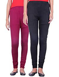 Belmarsh Warm Leggings - Pack of 2 (Mouve_Black)