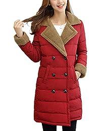 Mujer Chaqueta Acolchada Otoño Invierno Ropa Terciopelo Grueso Largos Abrigos Elegantes Fiesta Vintage Moda Chaqueta Colores