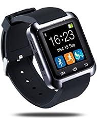 Smartwatch,Fulltime® Bluetooth 4.0 Multi-Languages intelligente Montre podomètre saine pour Android / IOS LG Samsung