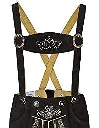 FROHSINN Trachtenhosenträger Bestickte Hosenträger für alle gängigen Herren Trachten Lederhose (hellbraun, dunkelbraun, schwarz etc)