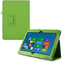 kwmobile Funda para Acer Aspire Switch 10 SW5-11 - Case delgado para tablet con soporte - Smart Cover slim para tableta en verde