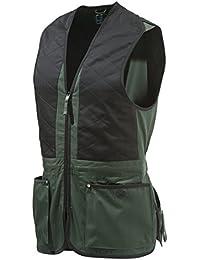 Beretta Universal Trap Cotton - Chaleco para hombre, Multicolot (Verde/Negro),