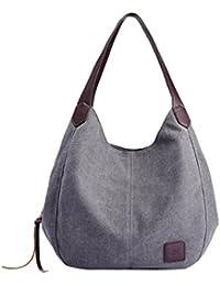 zarupeng-bolsas de lona de las mujeres Bolsos de hombro de alta calidad de la