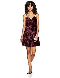 Angie Women's Velvet Dress