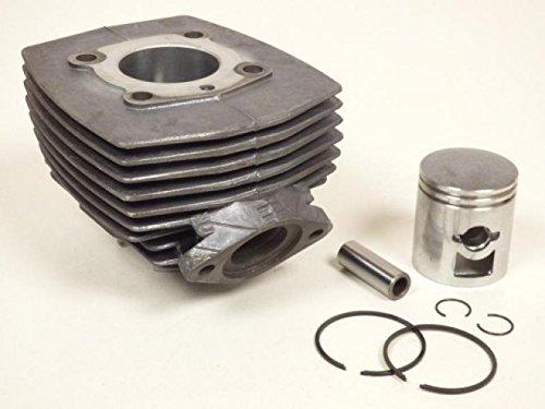 kit-cylindre-piston-segment-fonte-cyclomoteur-mobylette-peugeot-103-vogue-neuf