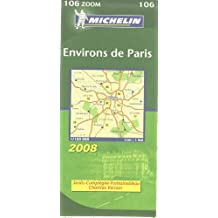 Environs de Paris : 1/100 000