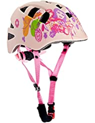 AWE® Pink Cool™ 15 respiraderos infantiles In-Mould Ciclismo Casco 48-52cm