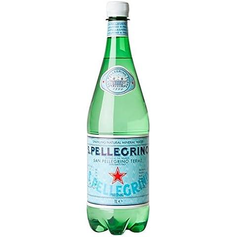 San Pellegrino espumoso mineral 1 litro de agua