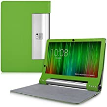 kwmobile Funda para Lenovo Yoga Tablet 2 Pro 13 (1380) - Case delgado para tablet con soporte - Smart Cover slim para tableta en verde
