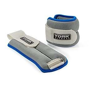 York Fitness Poids chevilles / poignets 2 x 0,5kg