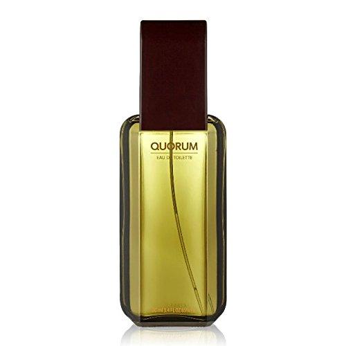 Quorum fur Herren Geschenkset - 100 ml Eau de Toilette Spray + 100 ml Aftershave Splash