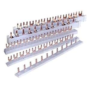 Phasenschiene 12 Pol. für 12 Module (4 x 3)