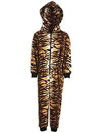 Combinaison pyjama - motif tigre - enfant