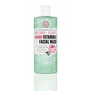 Soap And Glory Face Soap And Clarity 3-in-1 Daily Detox Vitamin C Facial Wash 350ml